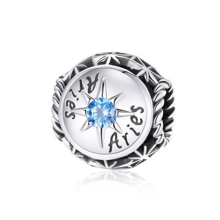 Talisman din argint Zodia Berbec
