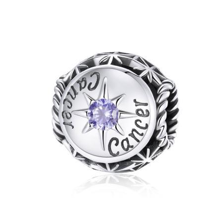 Talisman din argint Zodia Rac