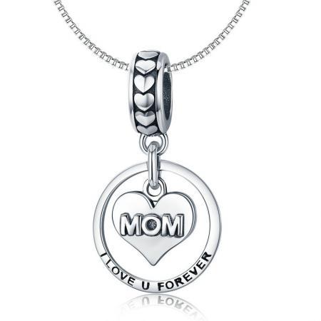 Colier din argint Mother's Love