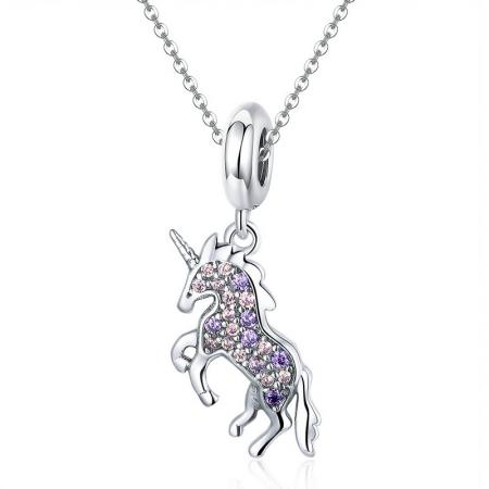 Colier din argint Sweet Unicorn