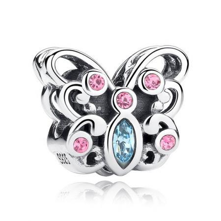 talisman-din-argint-patinat-cu-fluture-multicolor-47544-2